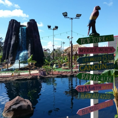 Minigolf Madness and Going Tropical