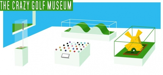 The Crazy Golf Museum is ten years old