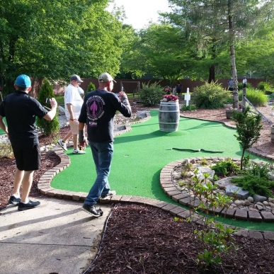 Snakes on a Minigolf Course!