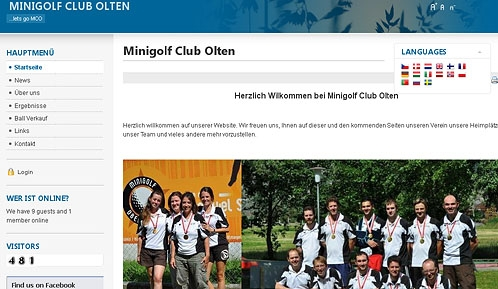 MC Olten has a new website