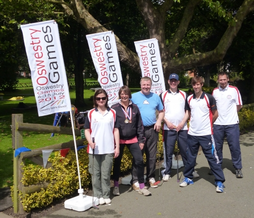 Minigolf Report from the 2012 Oswestry Games Multi-Sport Event