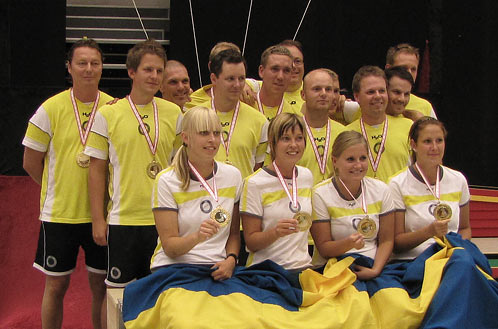 Odense, day 3: Sweden takes 2 x team gold