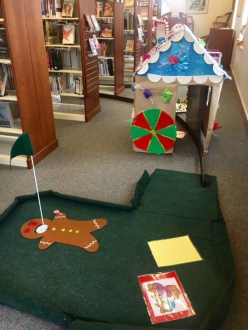 Shhh...Library Minigolf Part 6