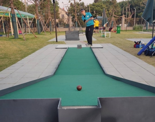 Minigolf World Championships Taking Place in China