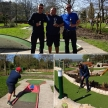 Scott Lancley wins the Great Northern Minigolf Open in Wigan.