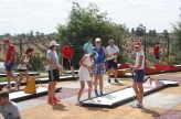 Minigolf Open Youth European Championships Tee-Off in Portugal