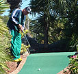 Ricard Lockner of Sweden wins Minigolf US Masters