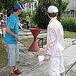 Children enjoy minigolf events of the summer season