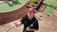Talking Minigolf Trick Shots with Allan Cox