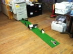 Cubicle Putting - Minigolf in the Workplace - Part 1